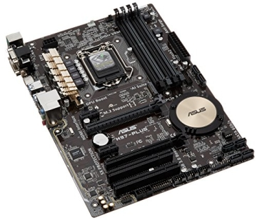 Asus H97-PLUS Mainboard Sockel 1150 (ATX, Intel H97, 4x DDR3-Ram, 1x PCIe 3.0 x16, 6x SATA) - 1